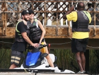 Liam Hemsworth Miley Cyrus Tybee Island