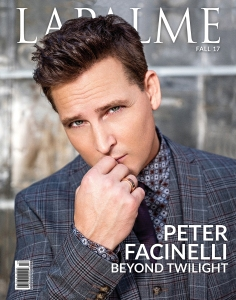 Peter Facinelli for LaPalme