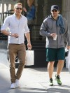 Ryan Reynolds and Jake Gyllenhaal get Coffee in Tribeca