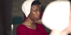 Samira Wiley in The Handmaid's Tale