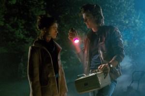 Natalia Dyer and Joe Keery in Stranger Things