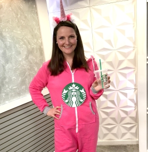Unicorn Frappuccino Halloween costume