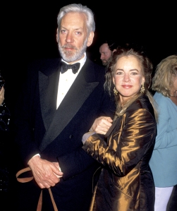 Donald Sutherland and Stockard Channing during 66th Annual Academy Awards at Dorothy Chandler Pavillion in Los Angeles, California.