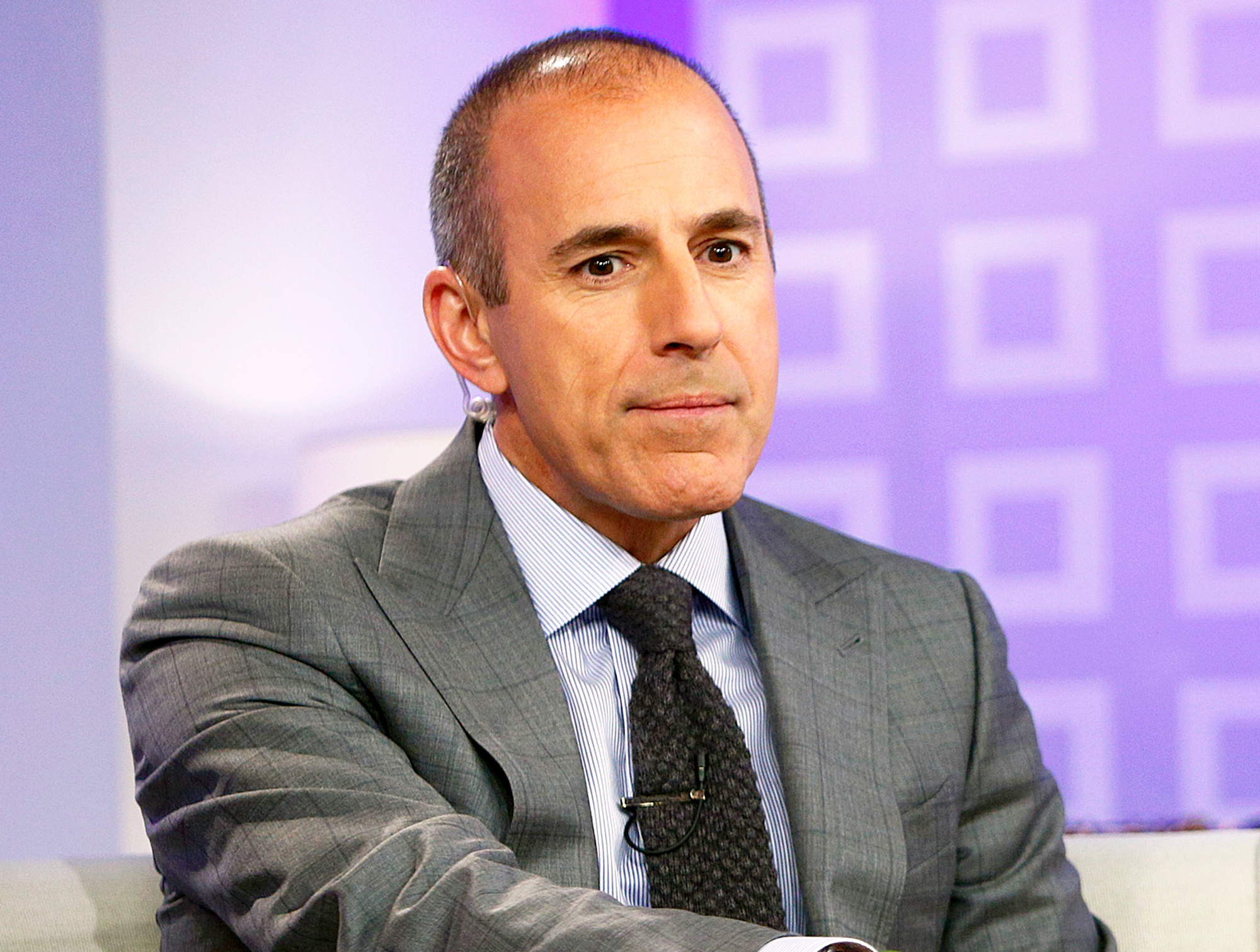 Matt Lauer on NBC News' 'Today' show