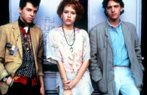 Jon Cryer, Molly Ringwald and Andrew McCarthy in 'Pretty In Pink'