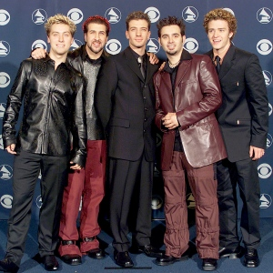'N Sync attend the 2000 Grammy Awards in Los Angeles, California.