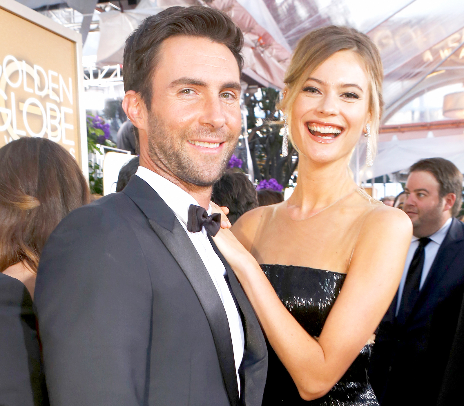 Adam Levine and Behati Prinsloo announce sex of second baby