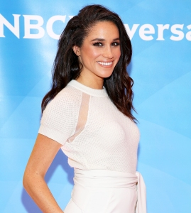 Meghan Markle attends the NBC's 2015 New York Summer Press Day at Four Seasons Hotel in New York City.