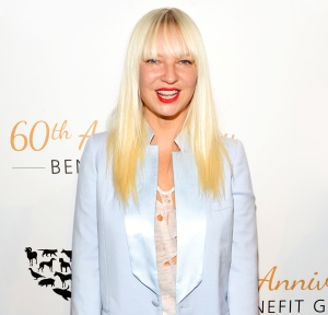 Sia attends the Humane Society of The United States 60th Anniversary Gala at The Beverly Hilton Hotel in Beverly Hills, California.