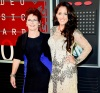 Barbara Evans and Jenelle Evans attend the 2015 MTV Video Music Awards at Microsoft Theater in Los Angeles, California.