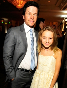 Mark Wahlberg and his daughter Ella attend the Operation Smile's 2015 Smile Gala in Beverly Hills, California.