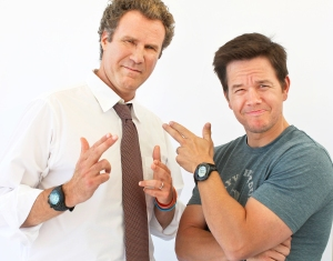 Will Ferrell and Mark Wahlberg attend the Comic-Con 2010 at Hotel Solamar in San Diego, California.