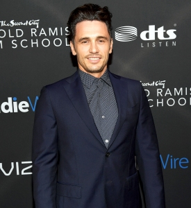 James Franco attends Inaugural IndieWire Honors on November 2, 2017 in Los Angeles, California.