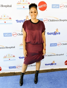 Tia Mowry attends the 18th Annual Mattel Party on the Pier at Pacific Park, on Santa Monica Pier on November 5, 2017 in Santa Monica, California.