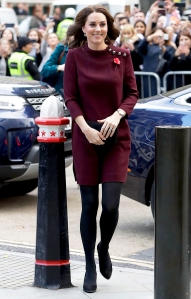 Catherine, Duchess Of Cambridge attends the annual Place2Be School Leaders Forum at UBS London on November 8, 2017 in London, England.