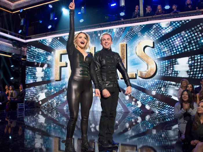 Witney Carson and Frankie Muniz on 'Dancing With The Stars'