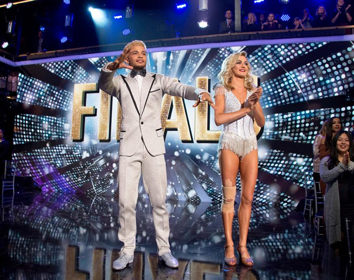 Jordan Fisher and Lindsay Arnold on 'Dancing With The Stars'