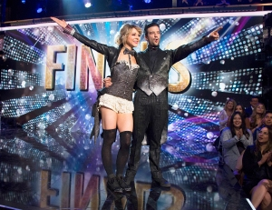 Lindsey Stirling and Mark Ballas on 'Dancing With The Stars'