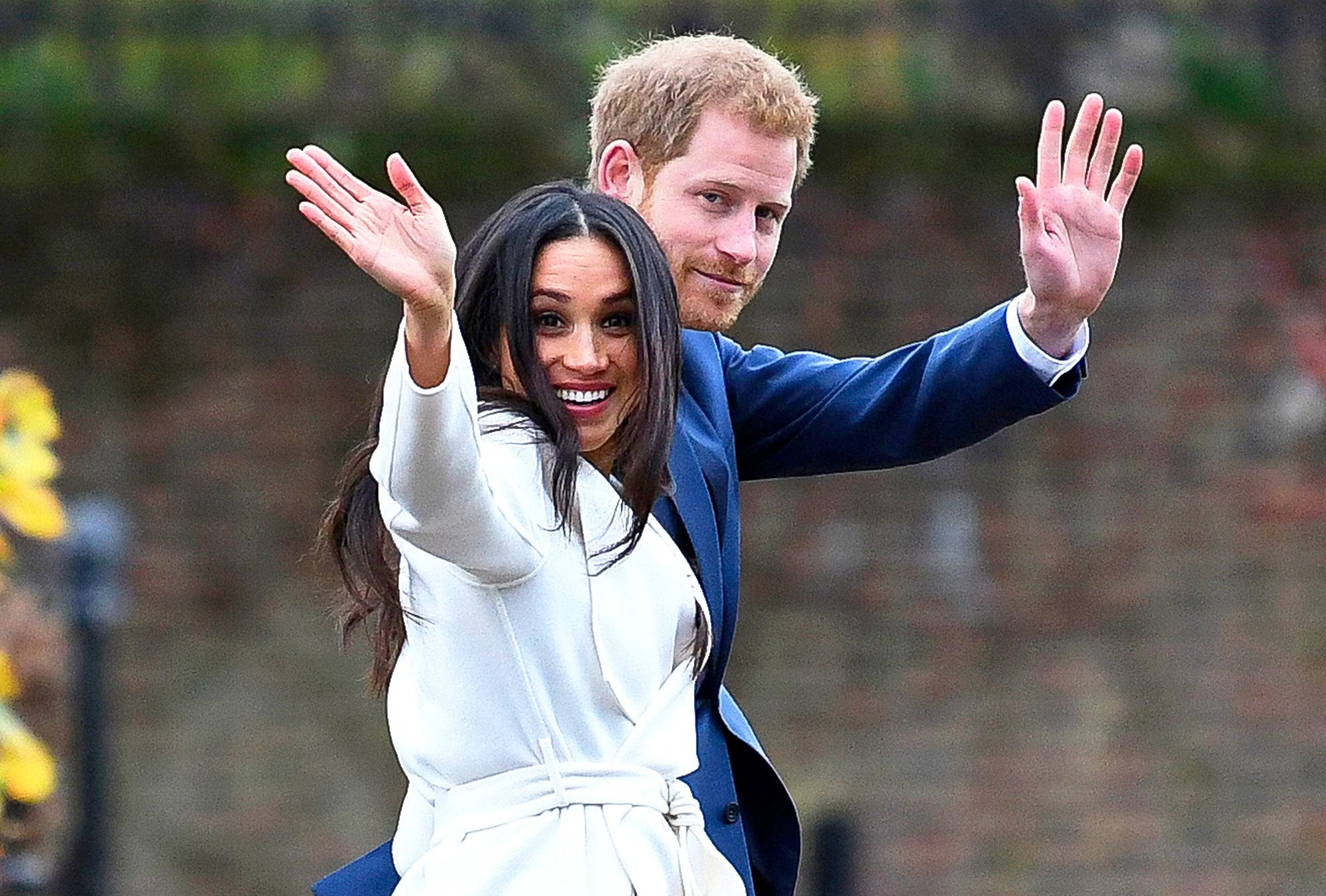 Prince Harry And Meghan Markle Attend An Official Photocall To Announce Their Engagement At The Sunken