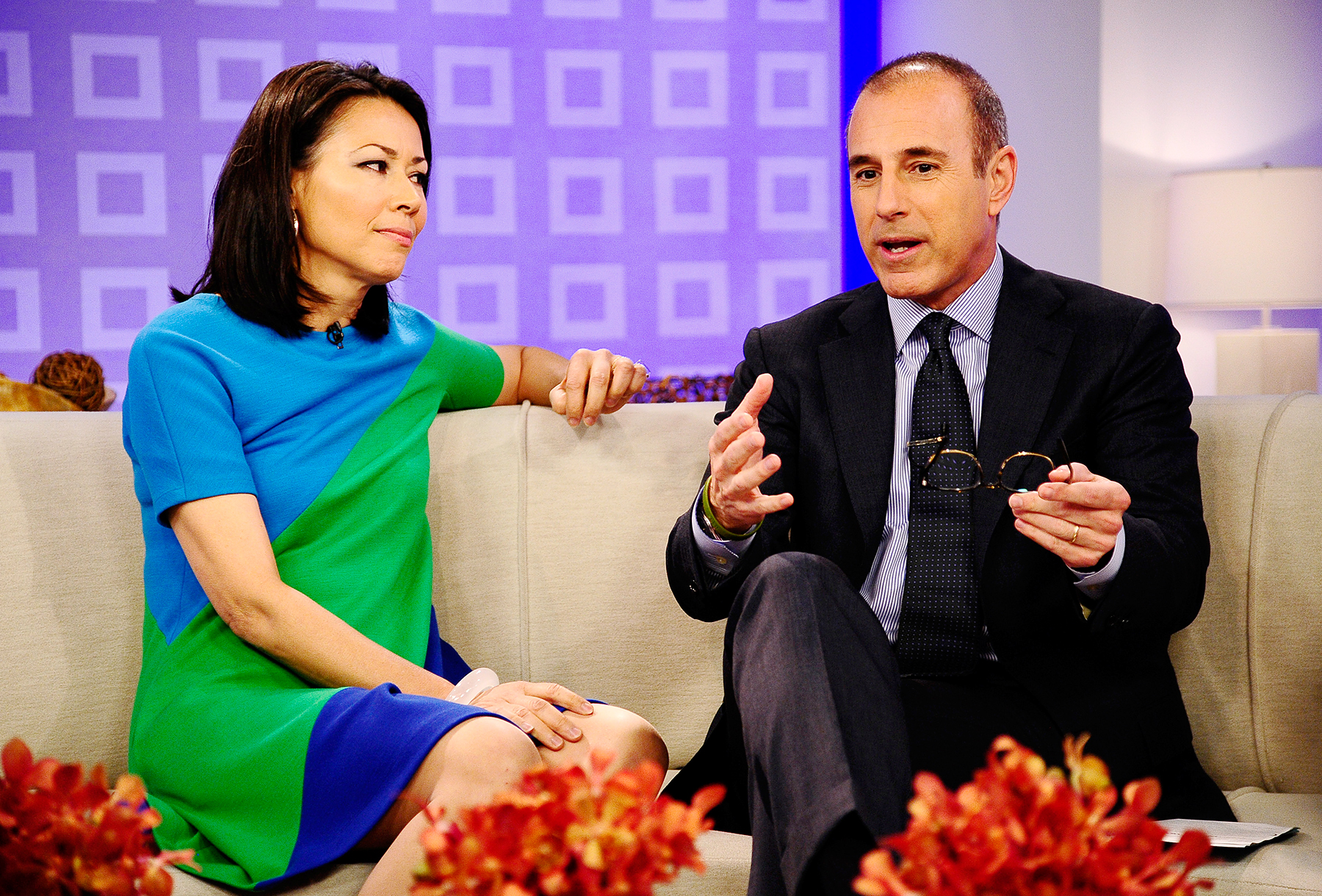 Ann Curry Matt Lauer Today