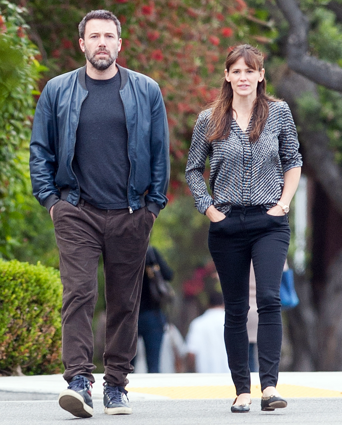 Ben Affleck Is Spending Thanksgiving With Jen Garner