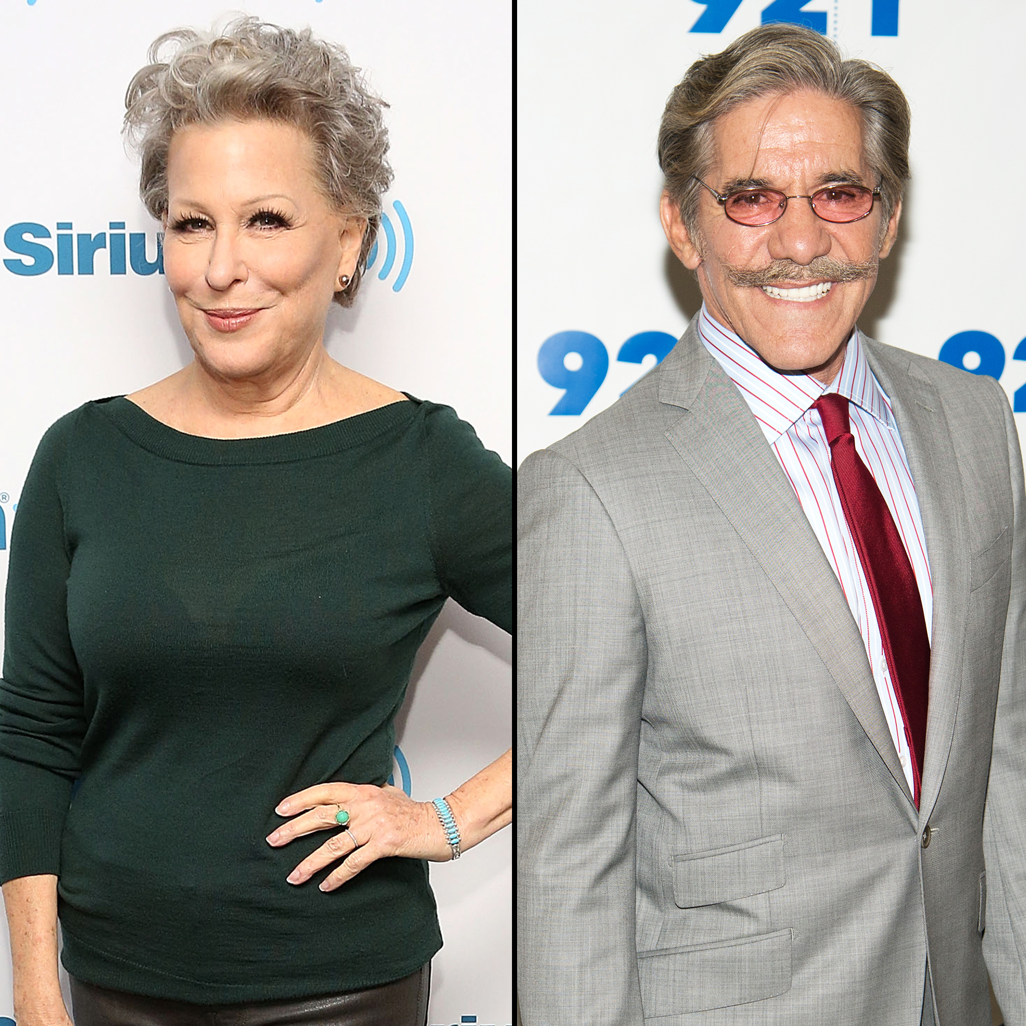 Geraldo Rivera apologizes to Bette Midler after groping accusation