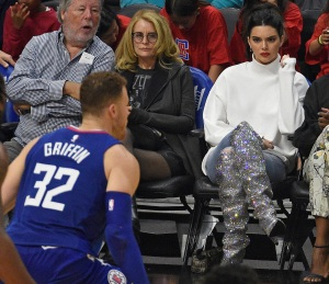 Kendall Jenner, Blake Griffin, LA Clippers
