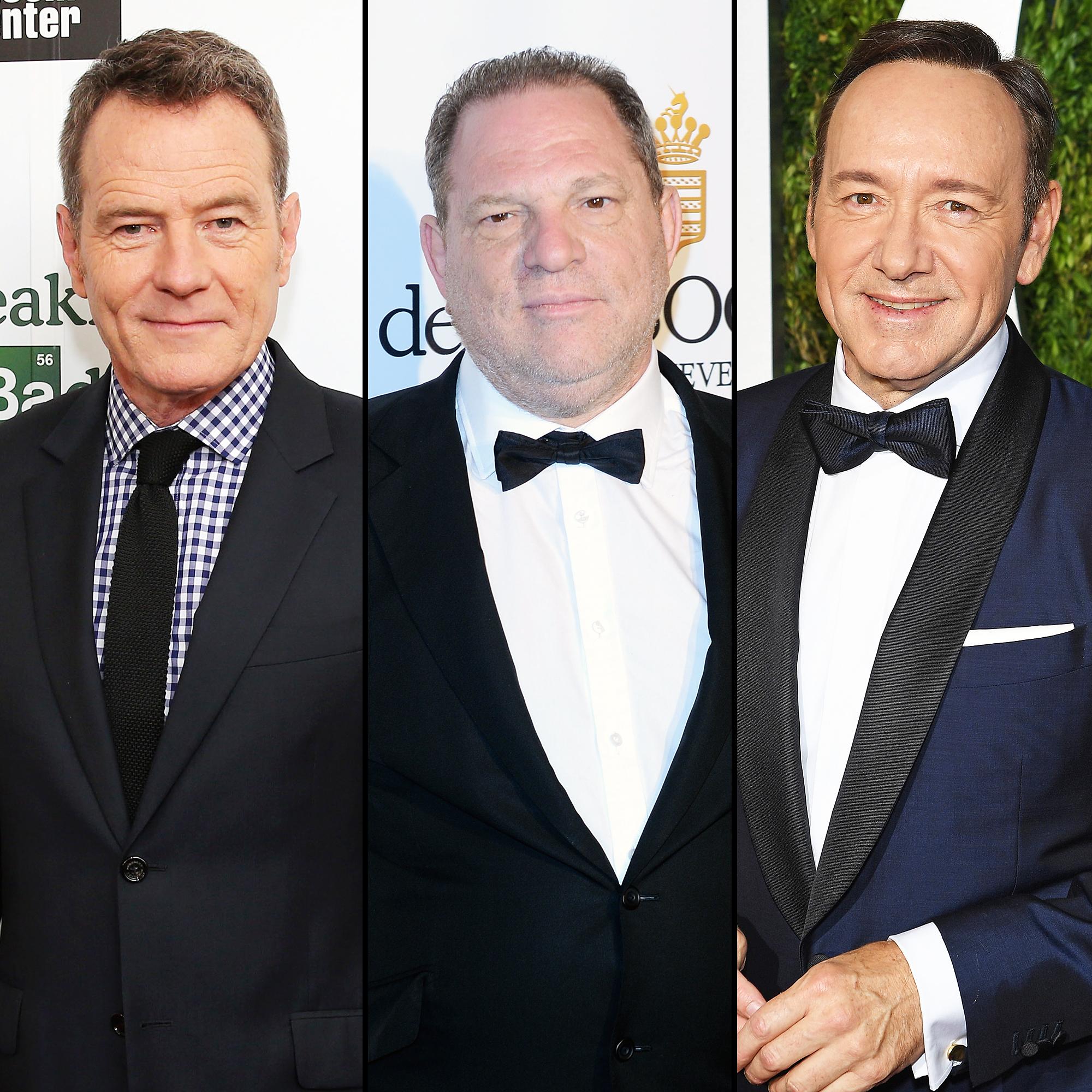 Bryan Cranston Harvey Weinstein Kevin Spacey