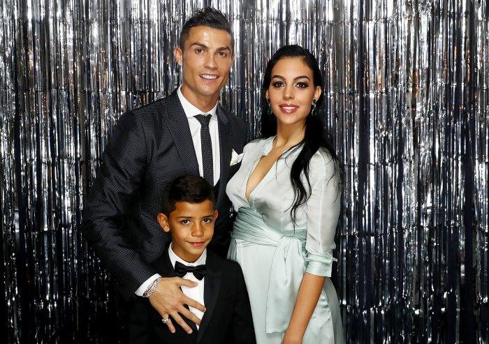 Cristiano Ronaldo Georgina Rodríguez Cristiano Ronaldo Jr