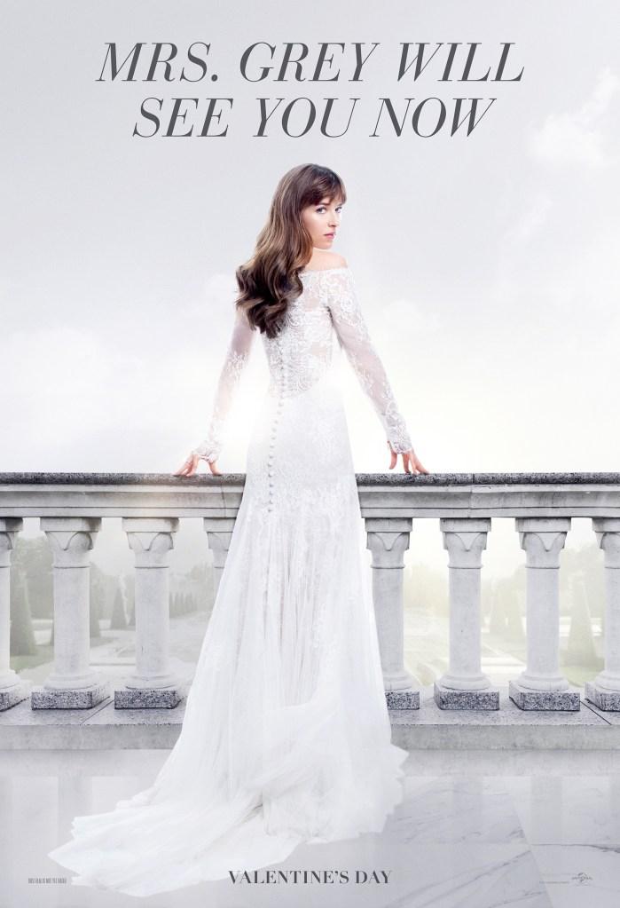 Dakota Johnson as Anastasia in 'Fifty Shades Freed'