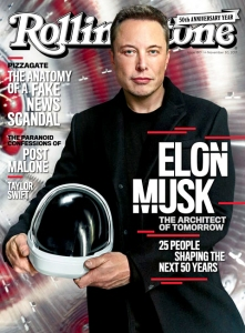 Elon Musk Rolling Stone Cover