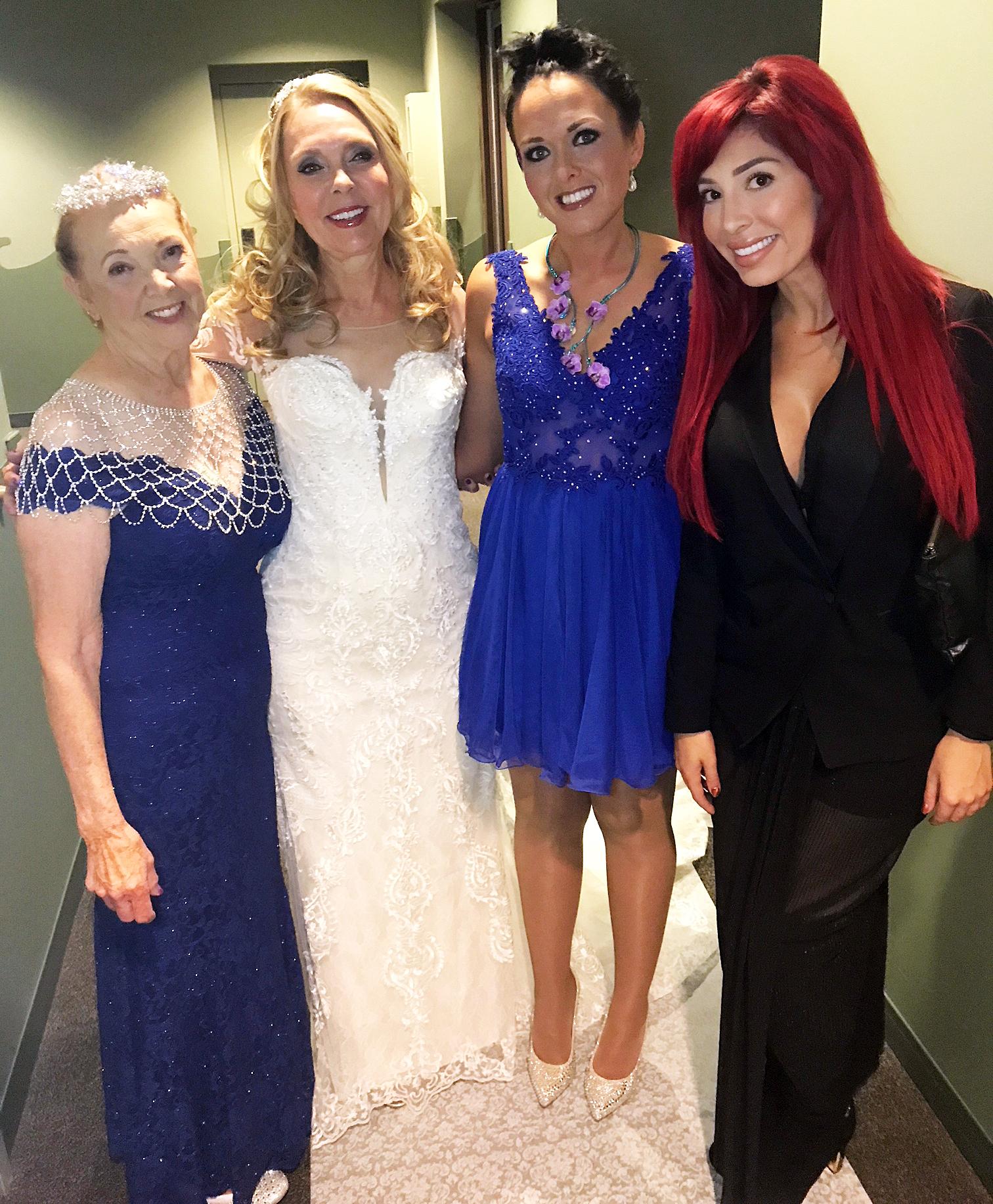 Farrah Abraham Debra Danielsen wedding
