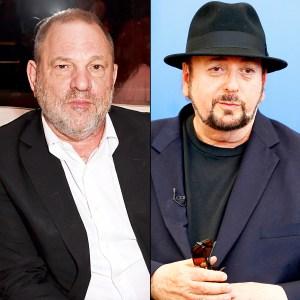 Harvey Weinstein and James Toback