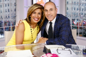 Hoda Kotb Matt Lauer Today