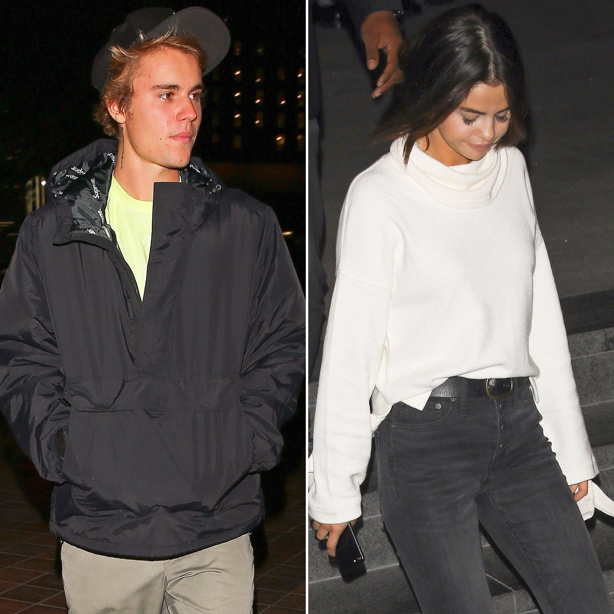 Bieber selena dating justin