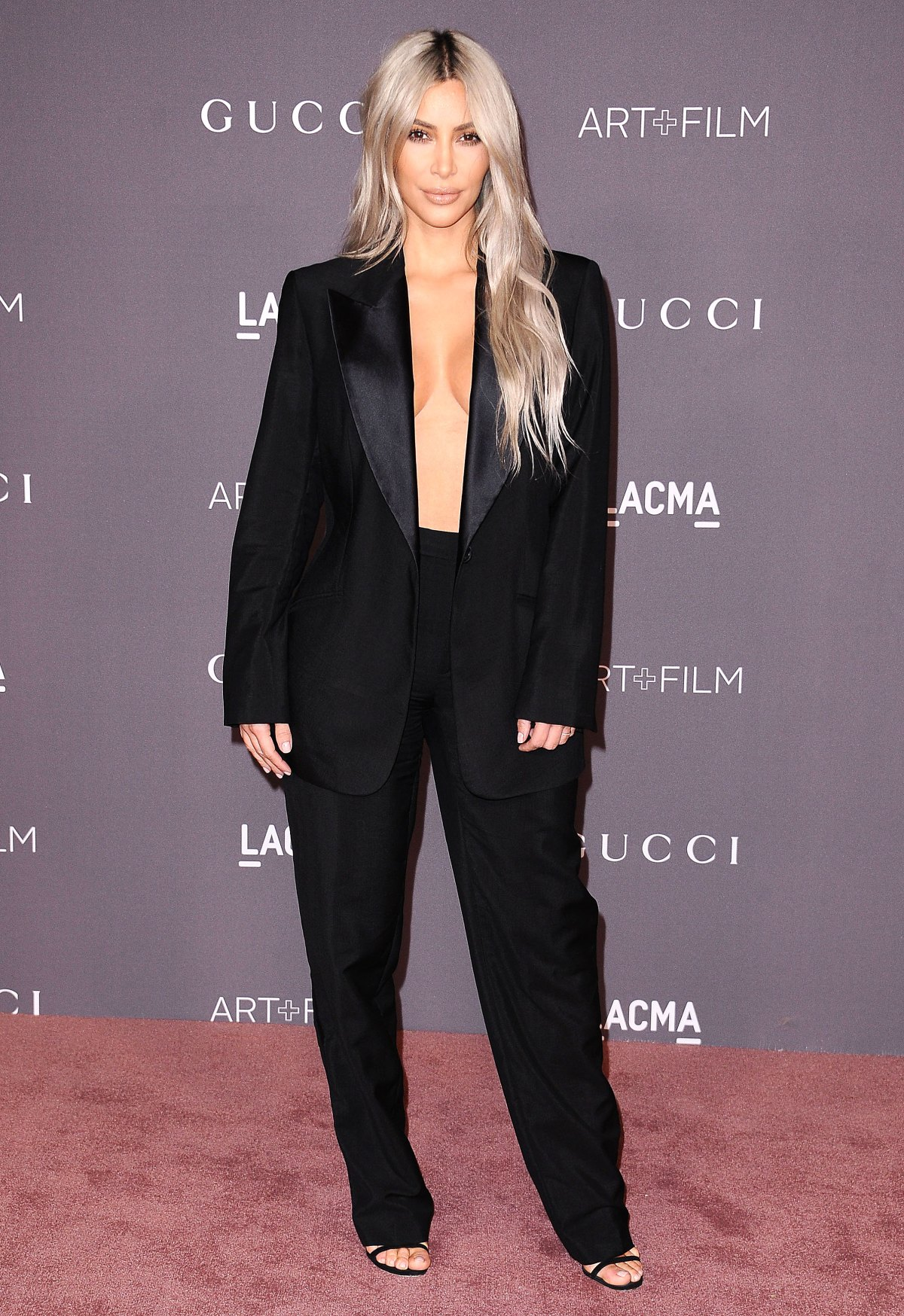 a3b8e5eaf4 Shirtless Tuxedo Celeb Fashion Trend  Kim Kardashian