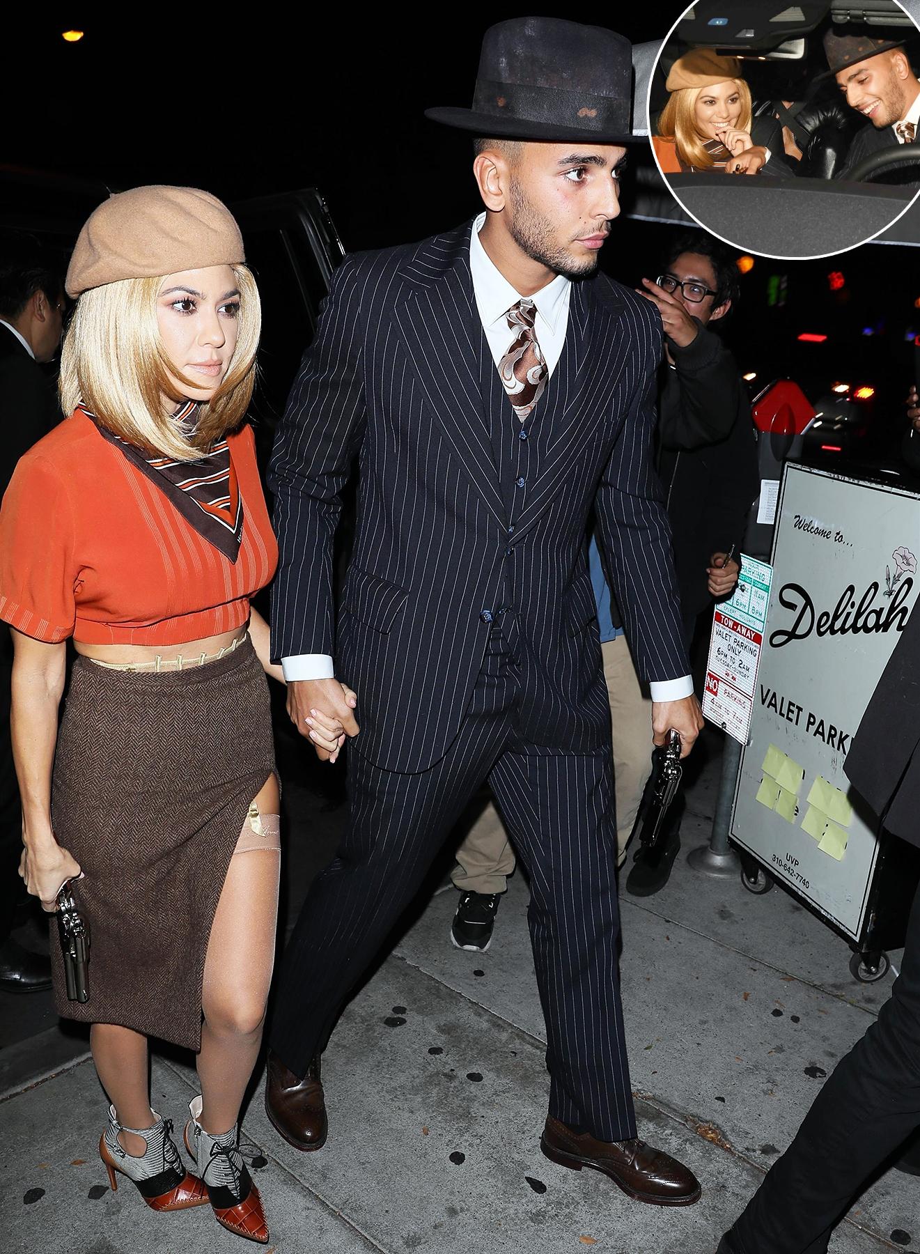 Who is dating kourtney kardashian now
