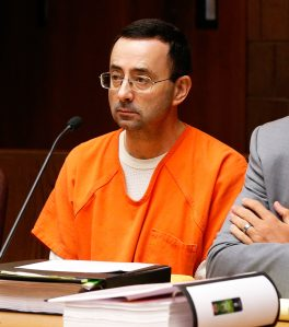 Larry Nassar, Gymnastics, molested