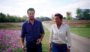 Luke Bryan and Robin Roberts