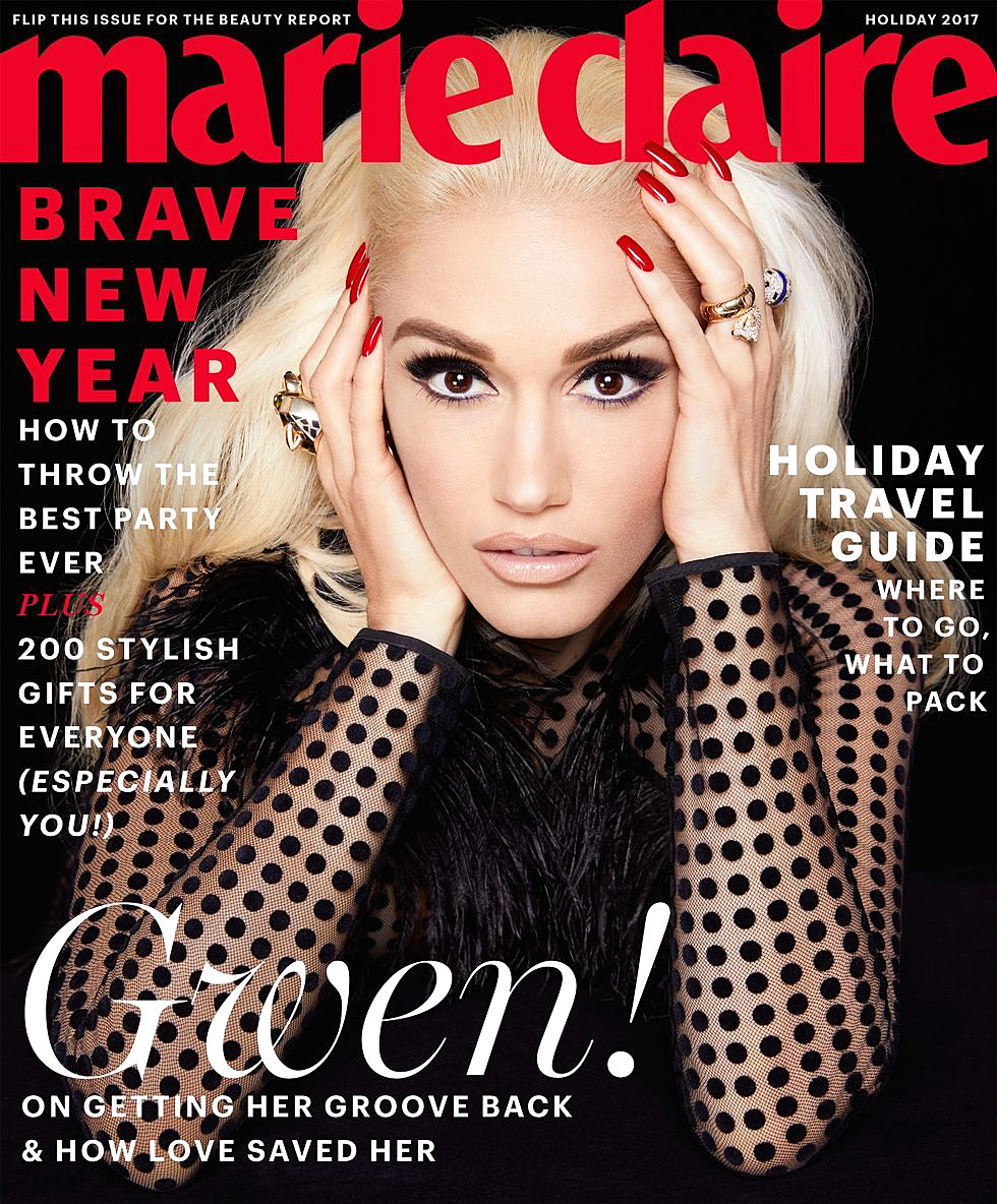 Gwen Stefani Marie Claire cover