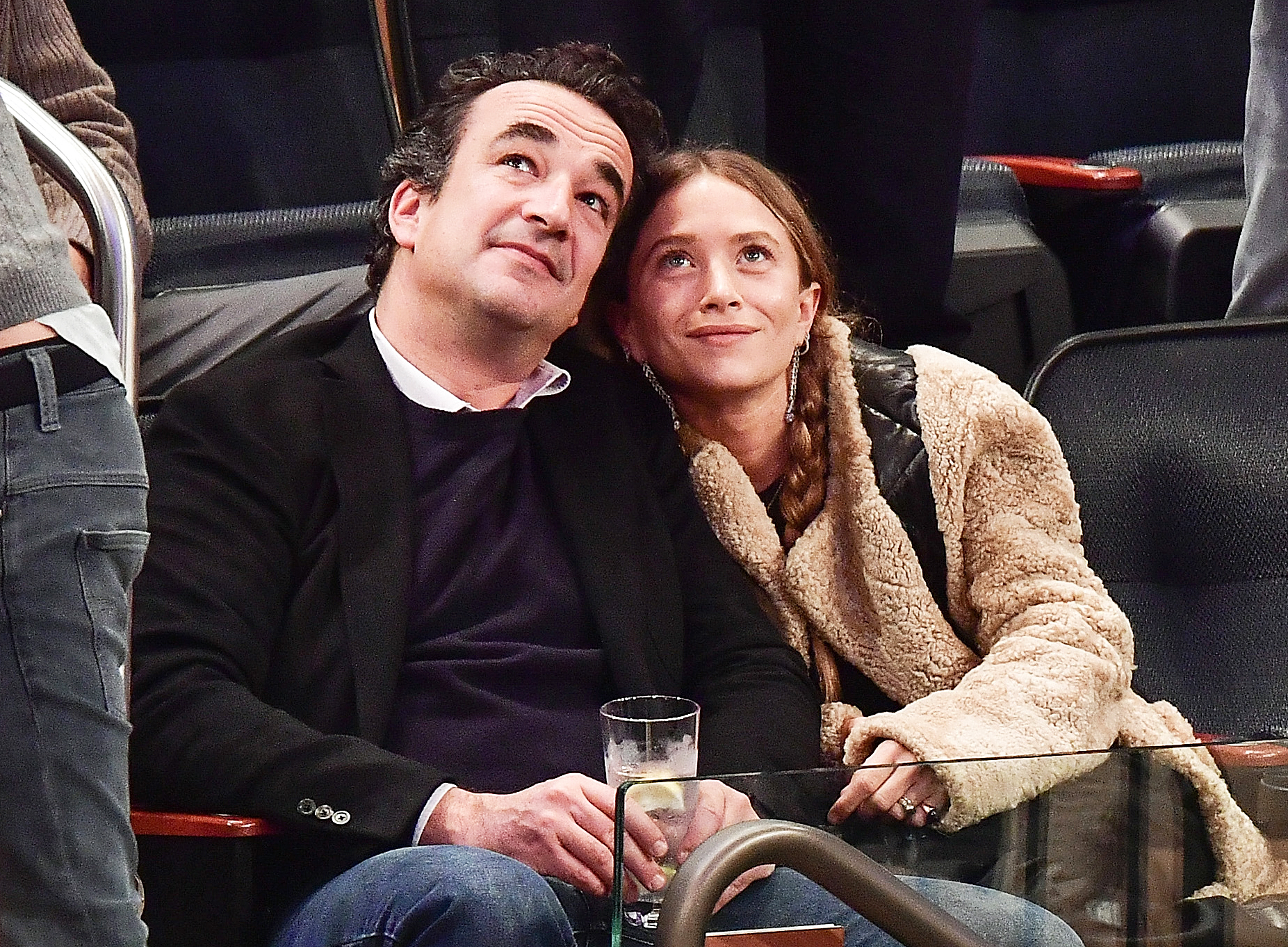 Olivier Sarkozy Mary-Kate Olsen