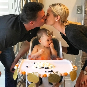 Jim Edmonds Meghan King Edmonds Aspen first birthday
