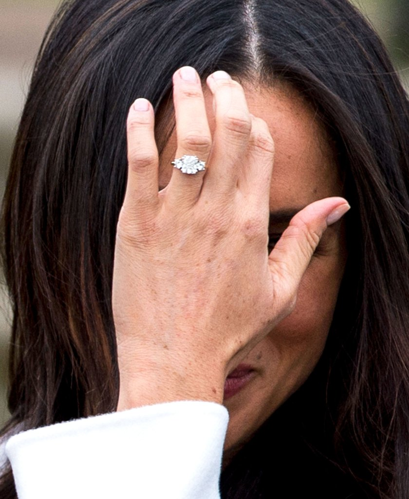 Meghan Markle S Engagement Ring From Prince Harry Details