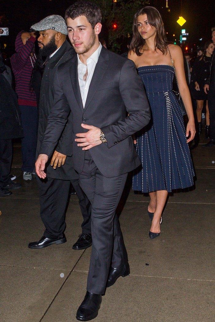 Nick Jonas, Georgia Fowler, Joe Jonas, Sophie Turner, Engagement Party