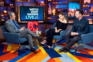Kate Hudson and Colin Hanks on 'Watch What Happens Live With Andy Cohen'