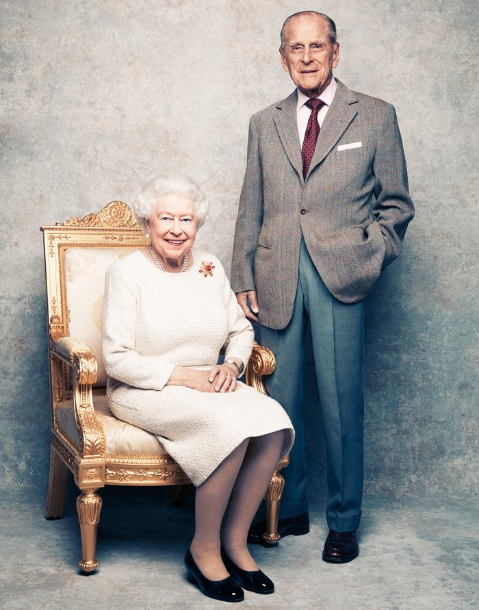 Queen Elizabeth II Prince Philip platinum wedding anniversary