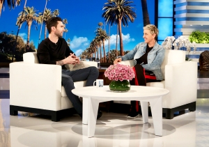 Adam Levine on 'Ellen DeGeneres Show'