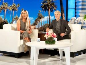 Kim Kardashian on 'The Ellen DeGeneres Show'