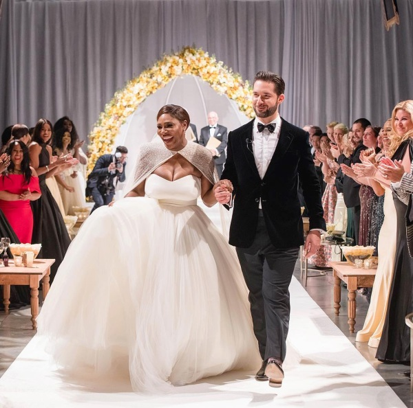Alexis Ohanian Marries Boyfriend Serena Williams: Dreamy Wedding Ceremony