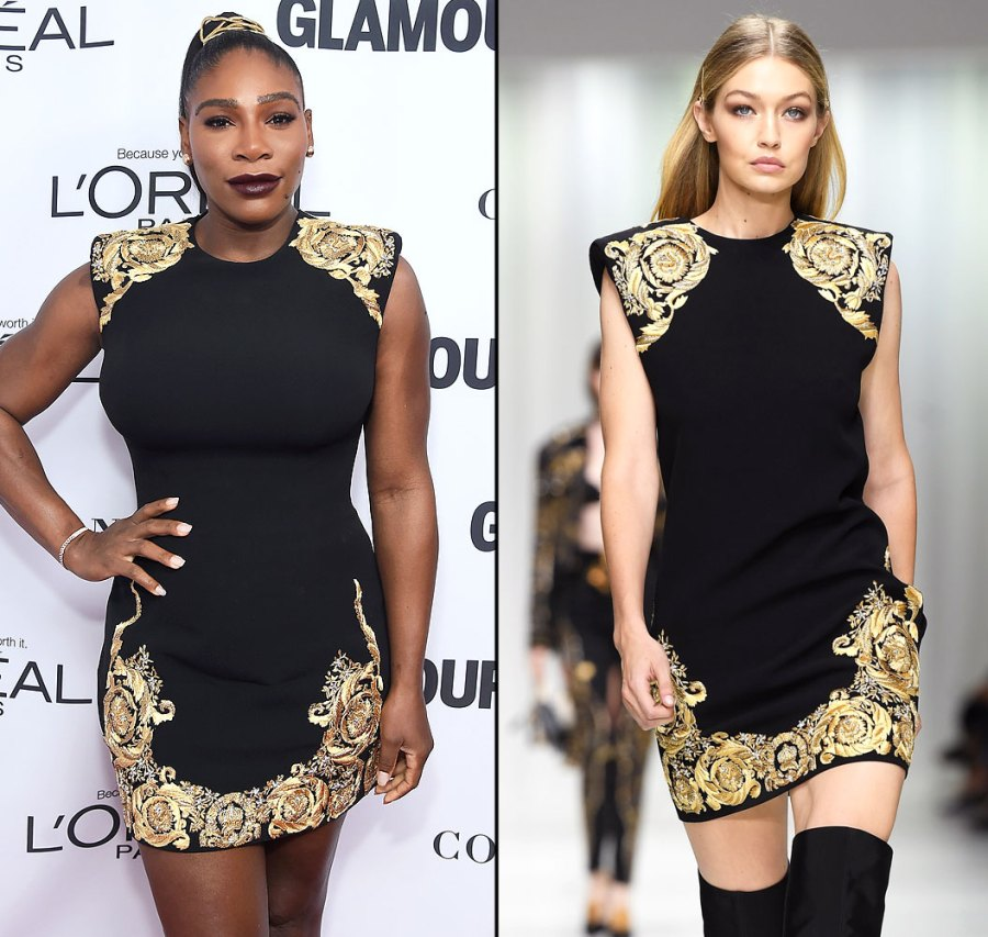 Serena Williams and Gigi Hadid